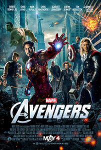 The Avengers 2012 Movie Poster